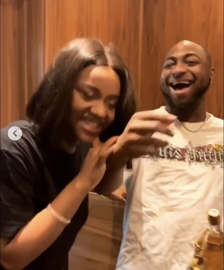 Davido Gives Chioma A Valentine's Day Surprise