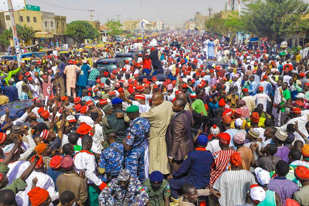 Many Slump At Atiku's Overcrowded Kano Campaign Rally