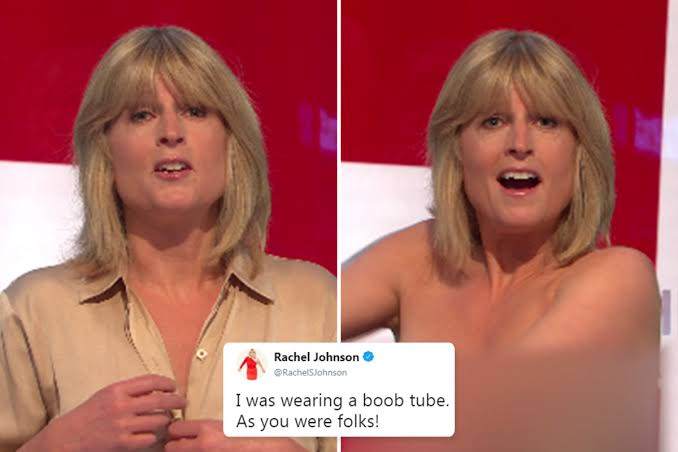 Rachel Johnson Goes Topless On Live TV Show During Brexit Discussion