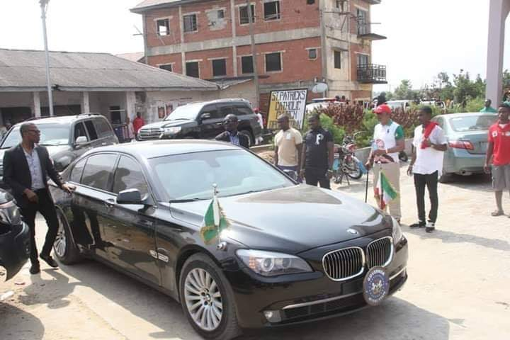 Wike Drives Into Opobo Kingdom, Makes History As First Governor To Do So