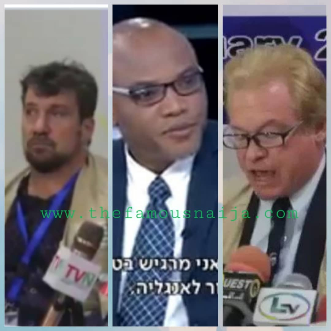 'I Never Knew A White Person Can Lie So Perfectly' Nnamdi Kanu (Video, Photos)