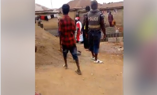 Police Storm Abuja Area, Arrest People While Celebrating Buhari's Victory.Photos
