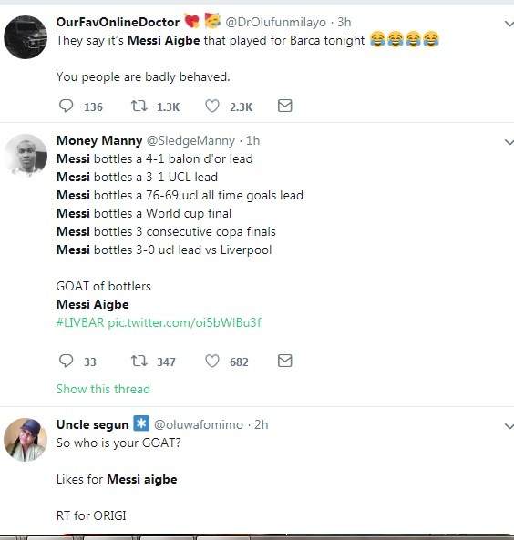 Mercy Aigbe Reacts To Twitter Trend As People Compares Her To Lionel Messi1