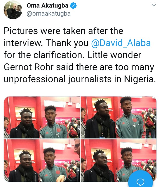 Nigerian U-17 Coaches Never Demanded Money From Me - David Alaba1