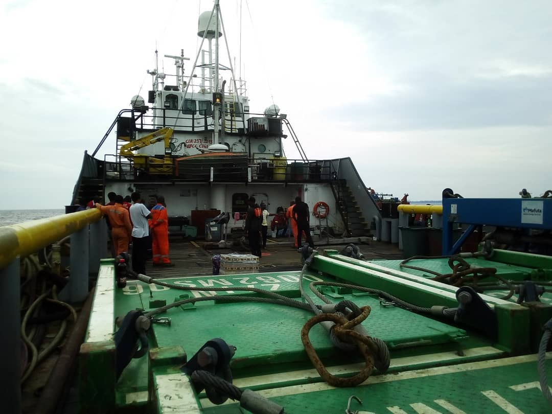 EFCC Takes Custody of Vessel, 13 Suspected Oil Thieves