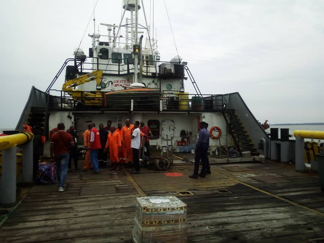 EFCC Takes Custody of Vessel, 13 Suspected Oil Thieves1