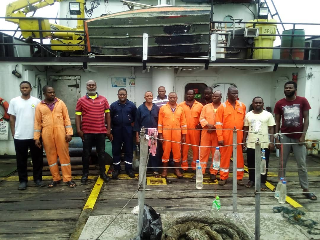 EFCC Takes Custody of Vessel, 13 Suspected Oil Thieves3