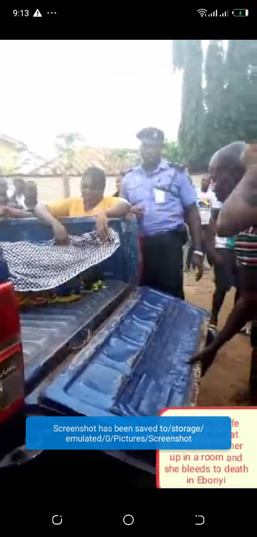 Man Insists Wife Must Deliver At Home, Locks Her Up As She Bled To Death. 3 jpg