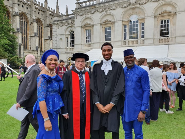 Malcom Ebose, Best Graduating Student Of His Class From Cambridge University UK1