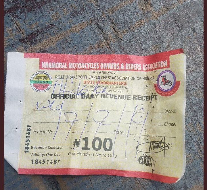 Touts Force Oride, Gokada And Maxng Bikes To Pay N500 For N100 Ticket2
